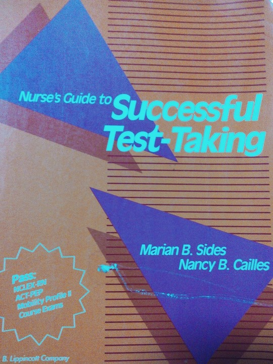 Nurse's Guide to Successful Test -Talking M.B.Sides ,1989
