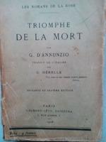 Triomphe de la mort par G. D'Annuzio , 1926