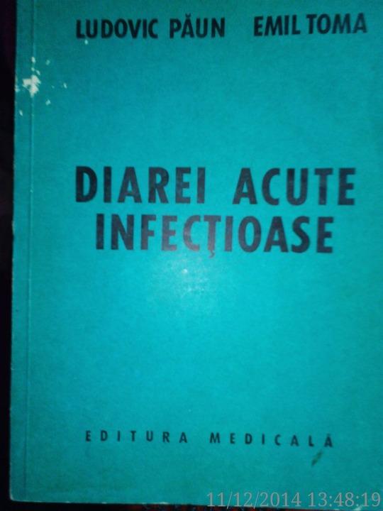 Diarei acute infectioase , Ludovic Paun , Emil Toma , 1980