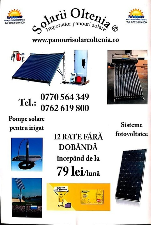 Panou solar apa calda nepresurizat 150 L (15 tuburi 47/1500)