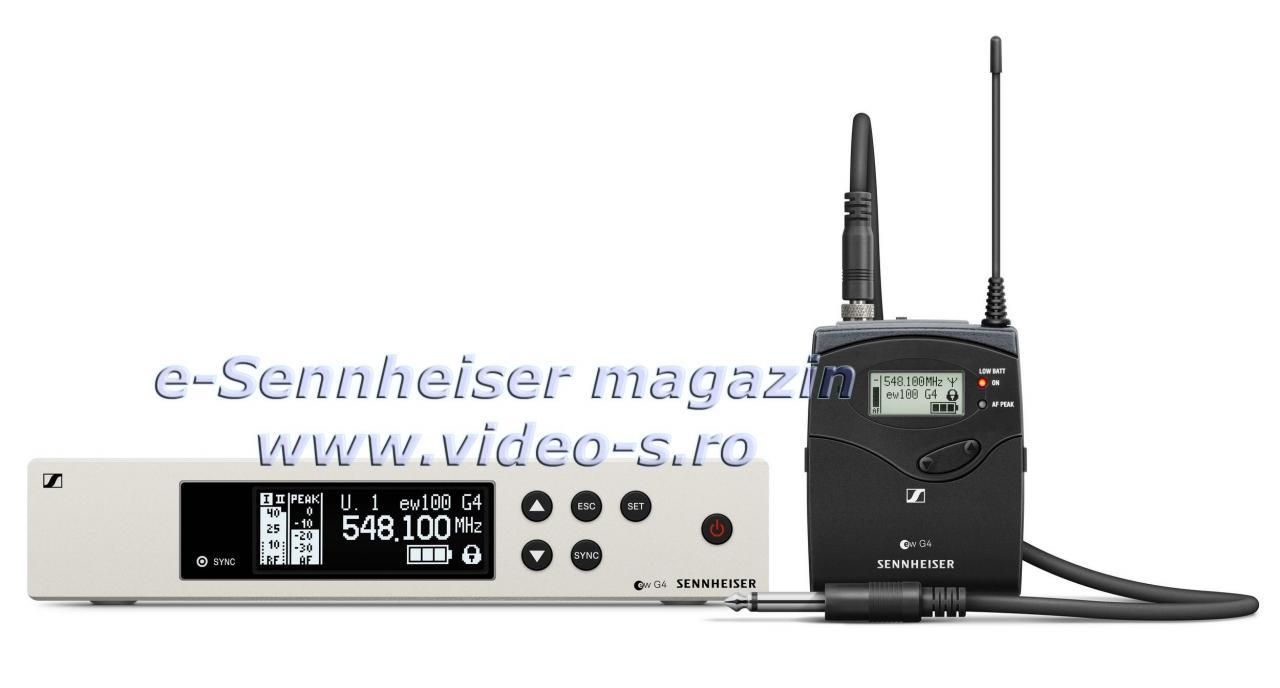 Set fara fir pt instrumente muzicale Sennheiser EW 100 G4