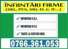 JURISTI & EXPERTI CONTABILI - Consultanta Infiintari Firme