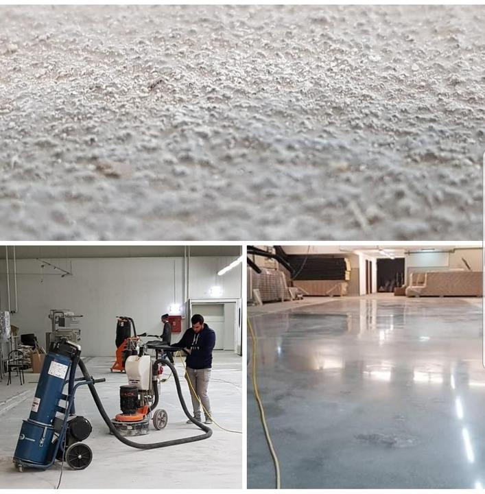 DE ce sa slefuiesti betonul