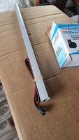 Set 2 baghete LED 50cm lumina albastra + adaptor 12 V 500mA
