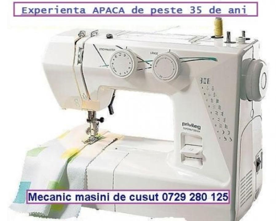 Repar masini de cusut (experienta APACA)