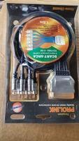 Cablu profesional SCART – 6 RCA lungime 1.5m AUDIO/VIDEO