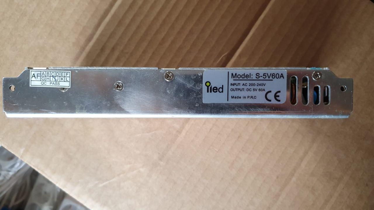 Sursa alimentare in cutie de tabla perforata MODEL S – 5V60A
