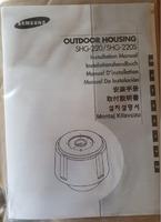 Carcasa de exterior Samsung OUTDOOR HOUSING CAMERA SHG-220/SHG-220S