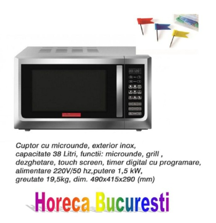 Cuptor microunde 38 Lt profesional