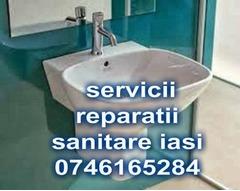 Instalator in Iași Servicii reparații,montaj și desfundari .