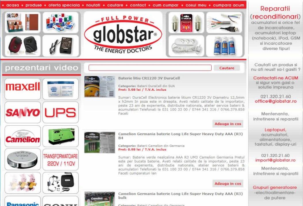 Importam acumulatori, baterii, UPS-uri, stabilizatoare, bec
