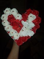 Aranjamente trandafiri de sapun