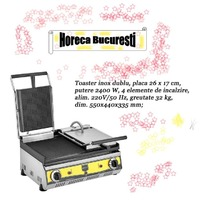 Toaster inox dublu electric profesional