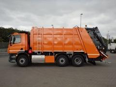 Sofer C, Camion pentru transportul deșeurilor în Italia. 2000euro brutto