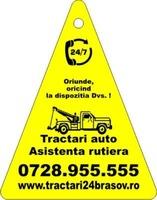 Tractari auto + remorcari auto + transport auto + transport utilaje + transport agabaritic.