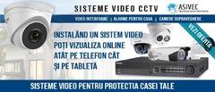 Sisteme de securitate, echipamente antiefractie, alarme