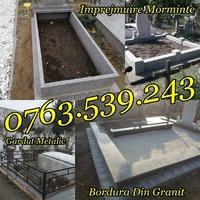 Constructii Cavouri Cripte Borduri Cimitir Placari Lucrari Funerare