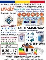 Centru încasări facturi în Simeria Piata Unirii, bl.6 Agentia Rot