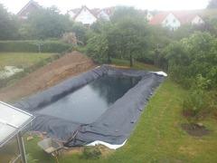 Folie PVC pt lac.iaz.bazin piscicol Pret de la 11 ron/m2