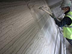 Companie constructii executam lucrari tencuiala mecanizata