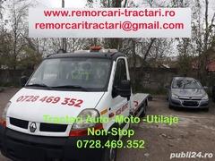 Platforma asistenta rutiera Tractare auto moto utilaje ieftin si rapid