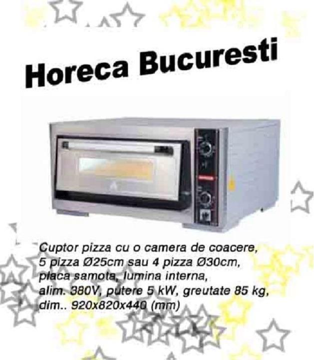 Cuptor electric pizza cu o camera profesional