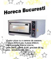 Cuptor electric pizza cu o camera profesional