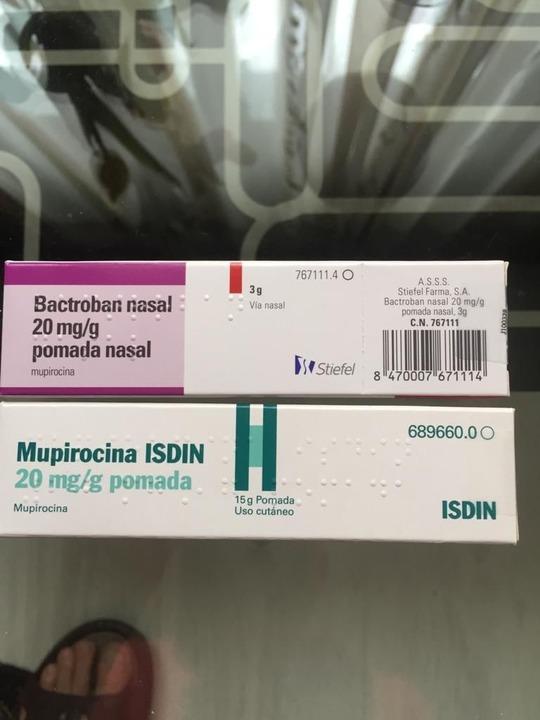 Bactroban nasal 3g/ Mupirocina 15g