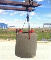 Clesti de ridicare tuburi beton