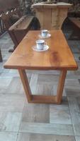 Măsuță de cafea din lemn masiv
