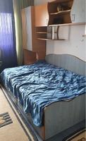 mobilier tineret pat+ dulapuri+ saltea