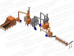 Linie productie peleti