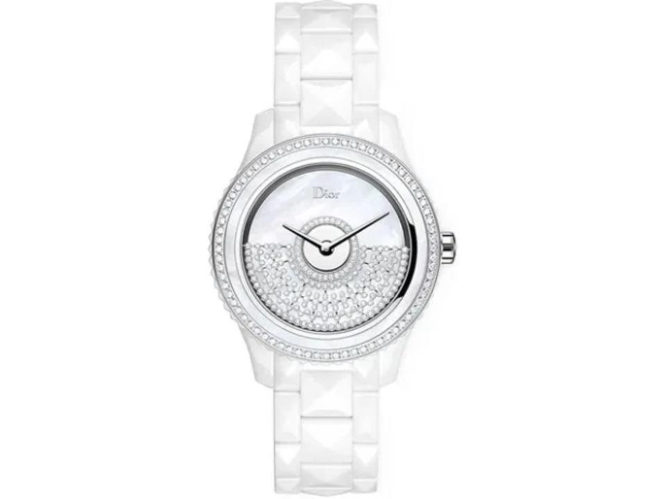 Christian Dior VIII Grand Bal White Pearl & Diamond