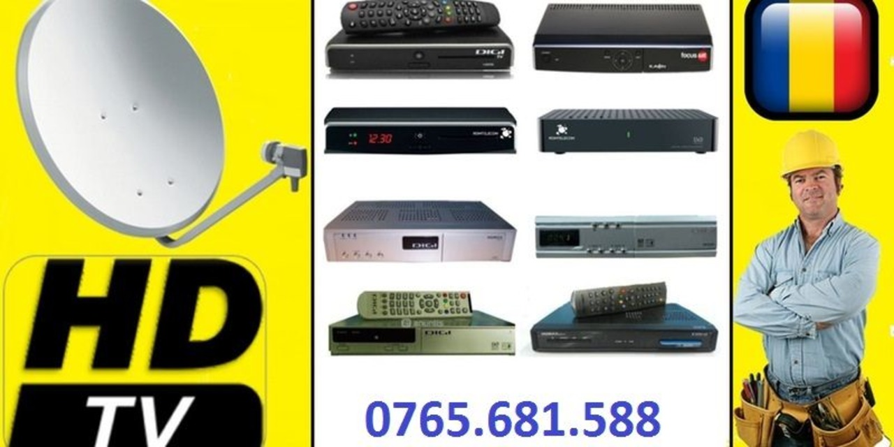 Instalator Antene Satelit 0765 681 588 sky