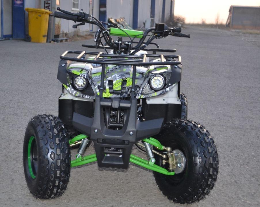ATV Model:Grizzly Graffit  NOU! Motor Fiabil 125cc (Roti 8 inch)