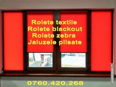 Rolete textile, zebra, blackout, jaluzele
