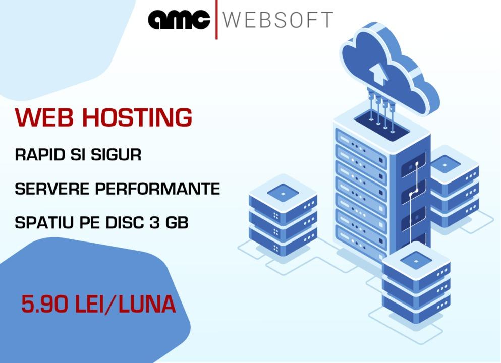 Mari reduceri de pret! Web hosting de la 5.90 lei/luna!