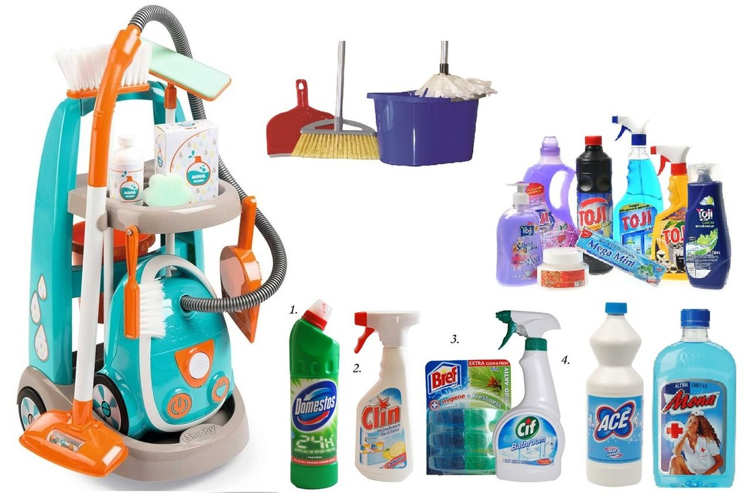 Produse de curatenie si dezinfectare