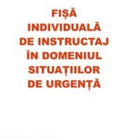 Fisa individuala de instructaj su, ssm - tipizate