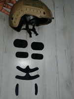 Casca protectie airsoft,noua,cu ocelari de protectie