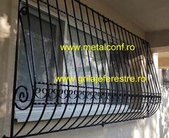 Grilaje metalice ferestre,fier forjat in Bucuresti